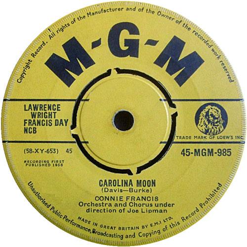 connie-francis-carolina-moon-mgm