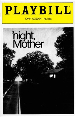 1983-night_Mother-Playbill