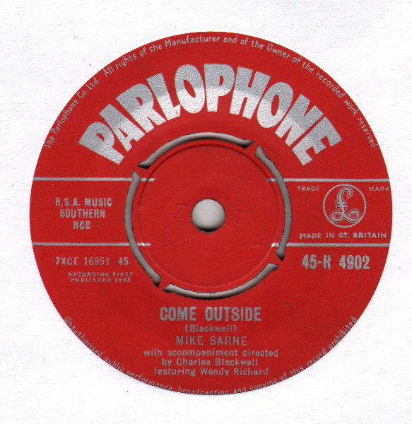 Come_Outside-Mike_Sarne_feat_Wendy Richard-Discogs