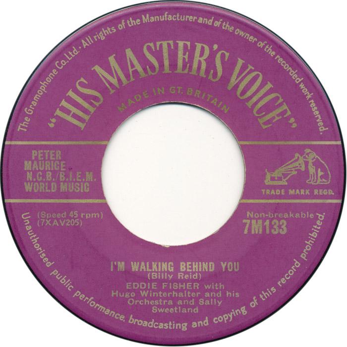 eddie-fisher-with-sally-sweetland-im-walking-behind-you-1953-45cat