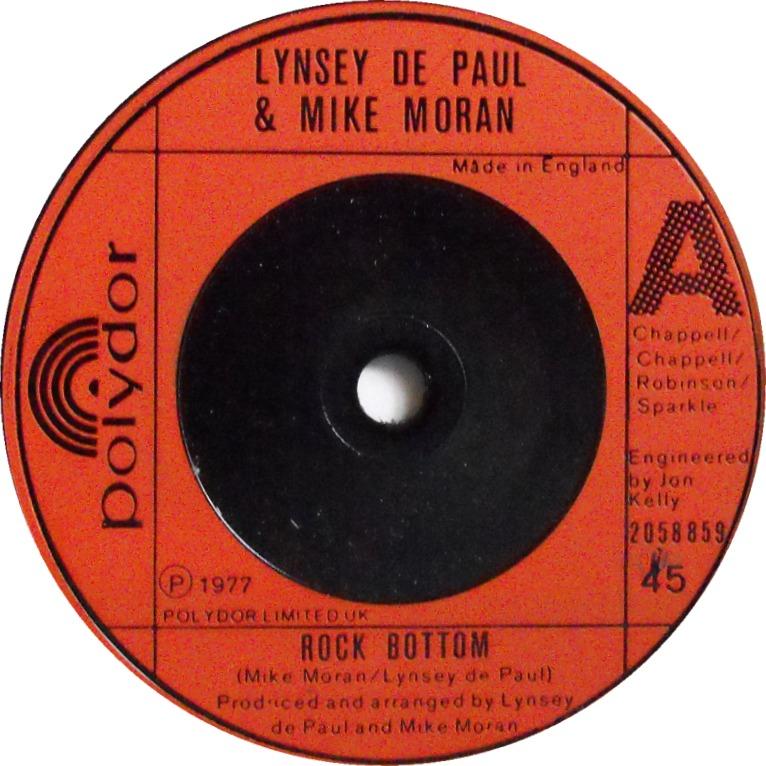 lynsey-de-paul-mike-moran-rock-bottom-polydor
